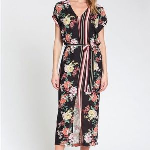 Anthropologie dRA Sanne Midi Dress
